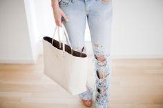 DIY Ripped Jeans  : DIY Ripped Jeans DIY Clothes DIY Refashion
