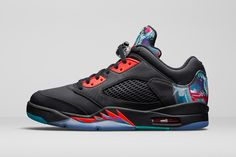 more photos e5276 e965b The Air Jordan 5 Arrives in a Colorful Makeup to Celebrate the Chinese New  Year
