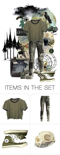 """""""What happened here?"""" by causingpanicatthetheater ❤ liked on Polyvore featuring art"""
