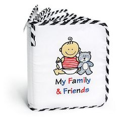 Baby's My First Photo Album of Family & Friends by Genius Baby Toys, http://www.amazon.com/dp/B000Q7G3VM/ref=cm_sw_r_pi_dp_iXW3qb03VH1FM