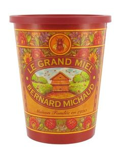 Honey In Decorated Tub - 17.6oz - French Honey By Bernard Michaud * Special offer just for you. : baking desserts recipes