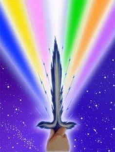 Je demande à mes Guides, aux Forces de Lumière, avec l'aide des Anges et de tous les Esprits supérieurs et bienveillants concernés, de joindre leurs efforts et leur puissance afin qu'il soit maintenant procédé au nettoyage total, purification et remise...