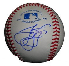 James Loney Autographed ROLB Baseball, Tampa Bay Rays, Boston Red Sox, Los Angeles Dodgers, Proof Photo by Southwestconnection-Memorabilia. $39.99. This is a James Loney autographed Rawlings official league baseball. James signed the ball in blue ballpoint pen. Check out the photo of James signing for us. Proof photo is included for free with purchase. Please click on images to enlarge.