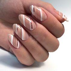 Nail Shapes - My Cool Nail Designs Natural Nail Designs, Diy Nail Designs, Beautiful Nail Designs, Square Oval Nails, Round Nails, Edge Nails, Flare Nails, Ballerina Nails, Nail Envy