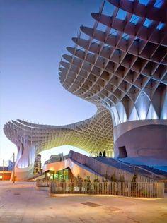 Metropol Parasol, Seville, Spain. #architecture ☮k☮