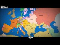 TRÈS INTÉRESSANT ! Voyez 1000 Ans D'Évolution Des Frontières De L'Europe. Superbe !