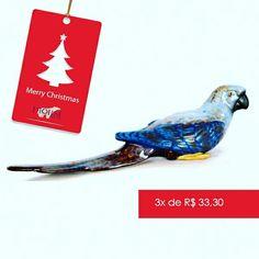 Presentes especiais para pessoas especiais. Escultura de pássaro azul em cerâmica.  Para comprar, acesse:  www.diorsidecor.com.br WhatsApp (12) 9 9715 2022