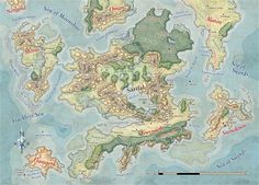 Sarifal Map by MikeSchley