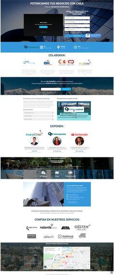 Website para OP Internacional y su lanzamiento en España