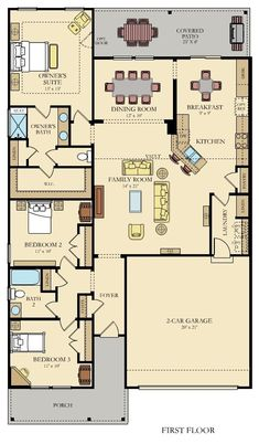 JARVIS New Home Plan in Lindera Preserve at Cane Bay Plantation: Arbor Collection by Lennar New House Plans, Small House Plans, House Floor Plans, 1000 Sq Ft House, Plan Ville, Affordable House Plans, South Carolina Homes, Home Design Floor Plans, House Map