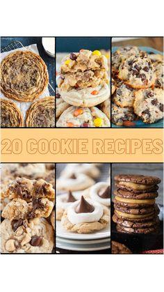 Shortbread Cookies, No Bake Cookies, Sugar Cookies, Peanut Butter Cookies, Chocolate Chip Cookies, Treat Yourself, Make It Yourself, Dessert Table, Cookie Dough