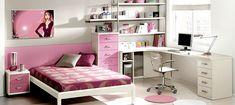 Decoração de quarto feminino - http://www.dicasdecoracao.com/decoracao-de-quarto-feminino/