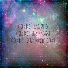 One band. One dream. One Direction. by Vdaloca Daudelin (@Verónica Sartori Daudelin❧ Daudelin❧)