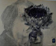 イメージ2 - ホルスト・ヤンセン(Horst.Janssen)が描く顔の画像 - 古書店「月映書房」だより - Yahoo!ブログ