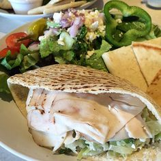 Zo S Kitchen Lean Turkey Pita classic turkey toasted sandwich: with lettuce, tomatoes, provolone