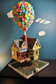 Up and away cake