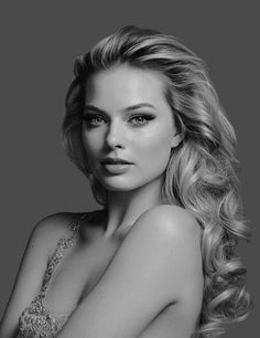 Margot Elise Robbie (Australian) (actor) (face)