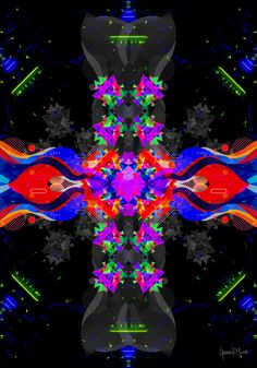 Virtual Art, Visionary Art, Psychedelic Art, Pablo Picasso, Paper Art, Mystic, Print Design, Art Gallery, German