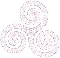 Triskell classique - Dentelles et créations de Gibritte