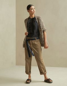 Look Fashion, Daily Fashion, Winter Fashion, Womens Fashion, Fashion Design, New Outfits, Casual Outfits, Royal Blue Outfits, Look Street Style