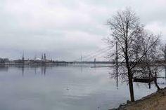 Daugava (Düna) in Riga