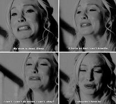 [gifset] #6x15 #LetHerGo #CarolineForbes