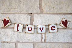 Wedding Banner Decoration $18.00, via Etsy.
