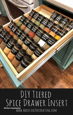 New Smart DIY Kitchen Organizing Ideas   #diykitchenorganization