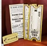 instead of traditional invites or save the dates - try golden tickets a la willy wonka!