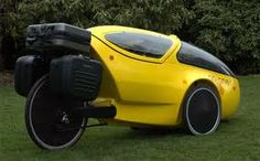 Un triciclo recumbente carenado