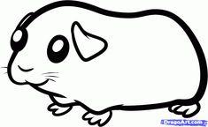 Unique How to Draw A Guinea Pig Step by Step