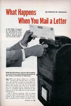 What Happens When You Mail a Letter (Dec, 1951)