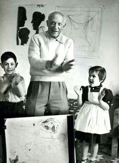Picasso et ses enfants