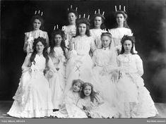 Luciakort från 1900 - talets början.