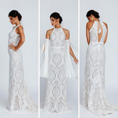 @bespokebridalvienna posted to Instagram: Unser Arizona Kleid ist von den Weiten amerikanischer Felder inspiriert.  Mit dem Neckholder Oberteil und dem gerade geschnittenen Rock wirkt es besonders an den geraden Figurtypen sehr vorteilhaft. Dieses Kleid passt wunderbar in eine etwas lockerere Umgebung. Ein dezenter Hut oder unsere abnehmbaren Chiffon Ärmeln verleihem dem großen Auftritt noch einmal das gewisse Extra. #bridacollection #hochzeitskleid #bespokebridalvienna #brautkleid #bohochic… Arizona, Felder, Bespoke, Chiffon, Rock, Bridal, Formal Dresses, Instagram, Fashion