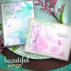 Newton's Nook Designs: March Release - Reveal Day 2 - Beautiful Wings