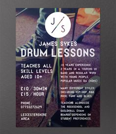 Math Tutor Flyer Examples Flyer Design For Adam Smith By Pindy Design Design 15 Cool Tutoring Flyers Printaholiccom, Cool Tutoring Flyers The Knowledge Roundtable, Tutoring Flyer, Drums Logo, Drum Lessons, Math Tutor, Play To Learn, Popular Music, Social Work, Young People, Graphic Design Inspiration