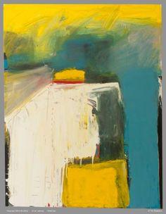 "Saatchi Art Artist Timothy Bickerton; Painting, ""white building"" #art"