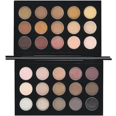 Enjoy creating luxurious and beautiful looks with the MAC neutral eye shadow pallet. This pallet features hues that complement a variety of skin tones and makeup looks.