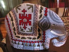 Lucky and Lovely Embroidered Elephant Tea Cozy