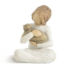 Willow Tree® is a registered trademark of Susan Lordi. Willow Tree® products in the United States are distributed exclusively by DEMDACO. Treehouse Gift & Home is an independant authorized reseller, not affiliated, endorsed, or sponsored by . Willow Tree Statues, Willow Tree Figures, Willow Tree Angels, Cat Lover Gifts, Cat Gifts, Cat Lovers, I Miss My Cat, Body Gestures, Cat Statue
