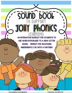 Phonics Sound Book Template from iCreate2Educate