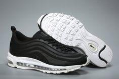 Men's Nike Air Max 97 Ultra SE Just Do It Black White Boys Running Shoes NIKE005825