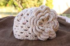 Free Easy Baby Crochet Patterns | This little crocheted skull cap came together really quickly while the ...