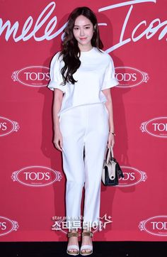 Jessica at Tod's 'Timeless Icons' event