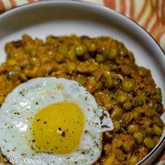 Čočka se zeleninou - Spicy Crumbs Lentil Recipes, Healthy Recipes, Czech Recipes, Ethnic Recipes, Vegetarian Main Course, Chana Masala, Lentils, Spicy, Curry