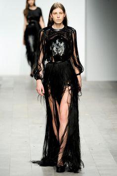 Central Saint Martins Fall 2011 Ready-to-Wear Fashion Show - **Phoebe English**