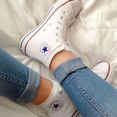 White High Top Converse!