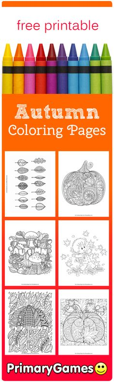 Fall Coloring Pages PagesEntreesFall CraftsClassroom DecorFree PrintableHomeschoolingProject IdeasKindergartenThanksgiving