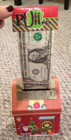 Cute way to give money as a gift!